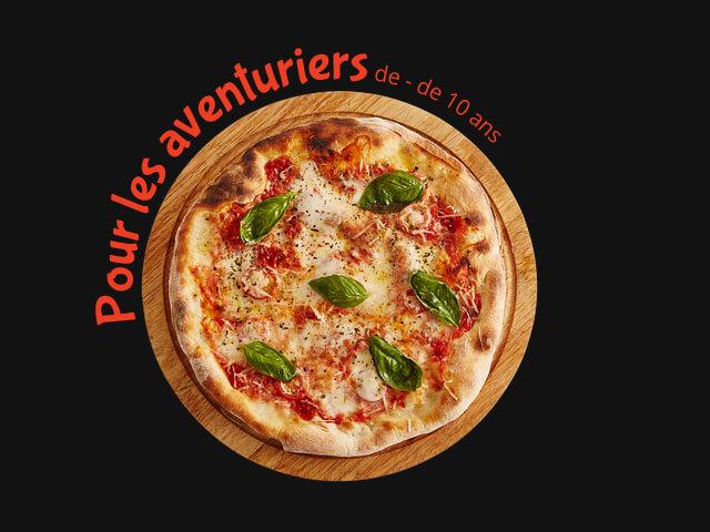 Formule enfant dans notre pizzeria aux Herbiers